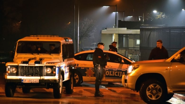 U.S. embassy targeted in Montenegro, attacker kills only himself