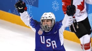 U.S. wins women's hockey gold in shootout to end Canadian Olympic reign