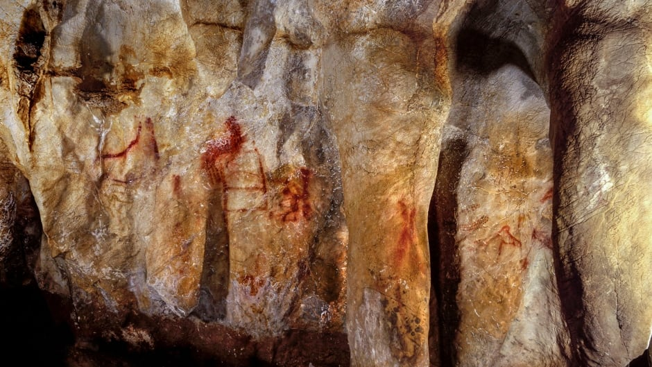 Artwork dating back 64,000 years shows that Neanderthals developed the ability to make red ochre paints.