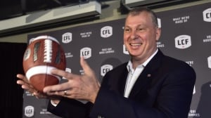 CFL commissioner lands in Halifax as football boosters rally for Atlantic team