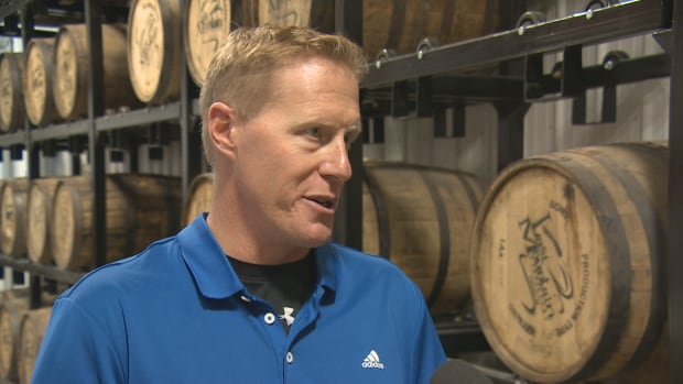 Colin Schmidt, owner of Last Mountain Distillery, is celebrating winning three medals at the Canadian Whisky Awards.