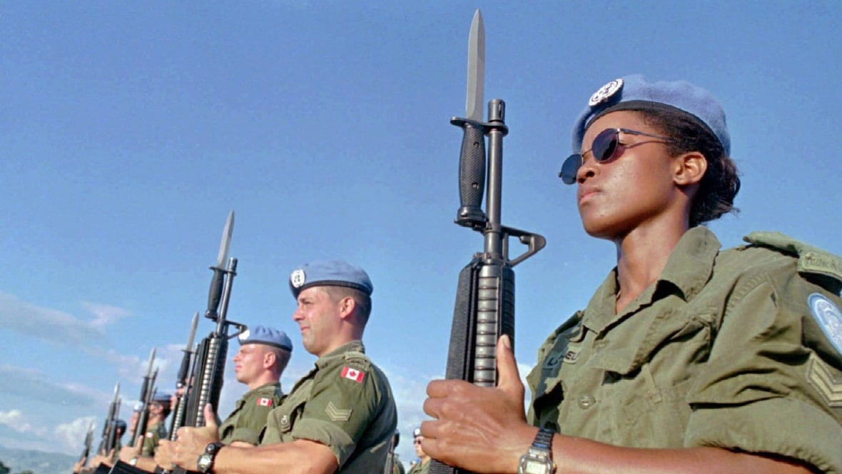 Canada returns to peacekeeping, but we're no Ethiopia
