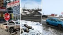 Traffic signal warrant score worst intersections Calgary