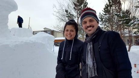 Alia Shahab and Eric Heitmann