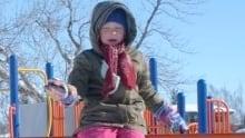 Calgary school snow play