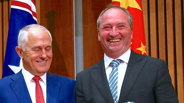 Barnaby Joyce expected to quit as leader