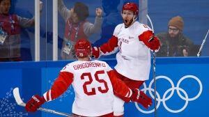 OAR defeats Czech Republic in men's hockey semifinal