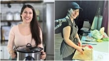 Tracy Michael from Nourished Kitchen and Jen McKenna from Creative Kitchen