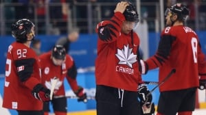 Canada to play for men's hockey bronze after stunning loss to Germany