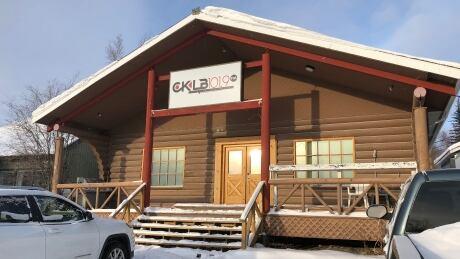 CKLB radio cabin