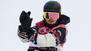 Canada's Toutant wins gold in 1st Olympic men's snowboard big air final