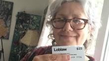LOBLAW gift card $25 Sharron Katz