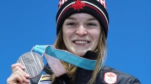 Kim Boutin named Canada's flag-bearer for closing ceremony