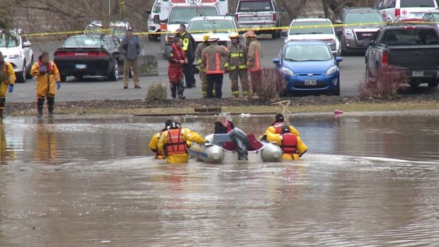 The Chatham-Kent Fire Department saved seven people from their flooded homes on Saturday. Water levels rose before the residents evacuated. No one was injured.