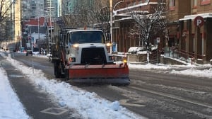 Clean up underway in Metro Vancouver after overnight snow dump