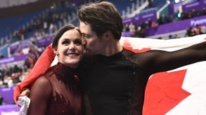 Watch the Olympic figure skating gala, featuring Virtue and Moir