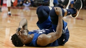 Timberwolves lose all-star Jimmy Butler to knee injury