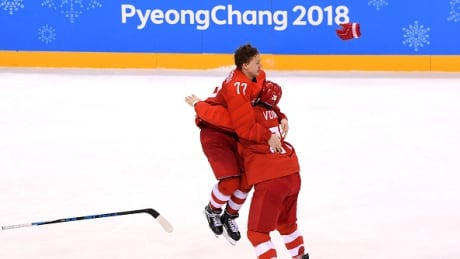Pyeongchang: OAR Holds Off Germany To Win Men's Hockey Gold In OT Thriller