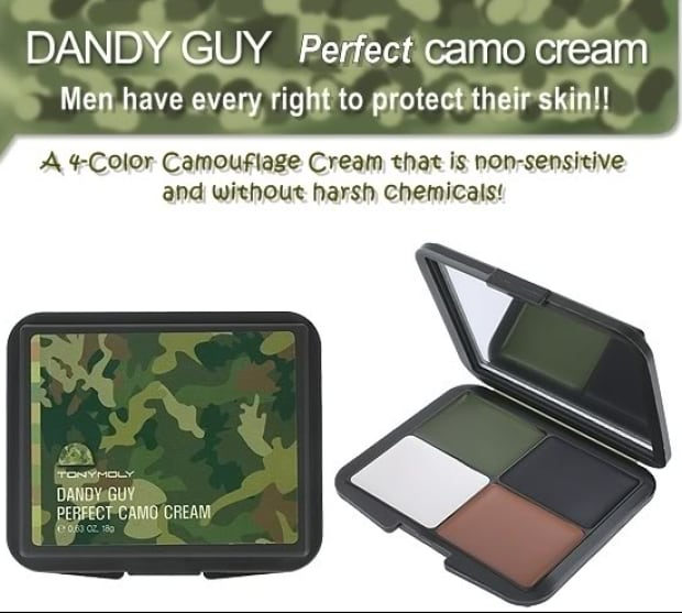 camo cream for men
