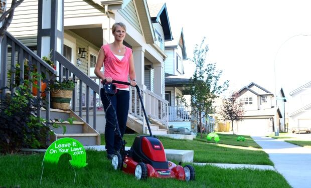 The city plans to curb pick up of bagged grass and leaves starting in September. (City of Edmonton)