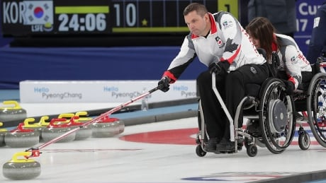 Wheelchair Curling Canada Mark Ideson