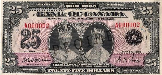 $25 bill
