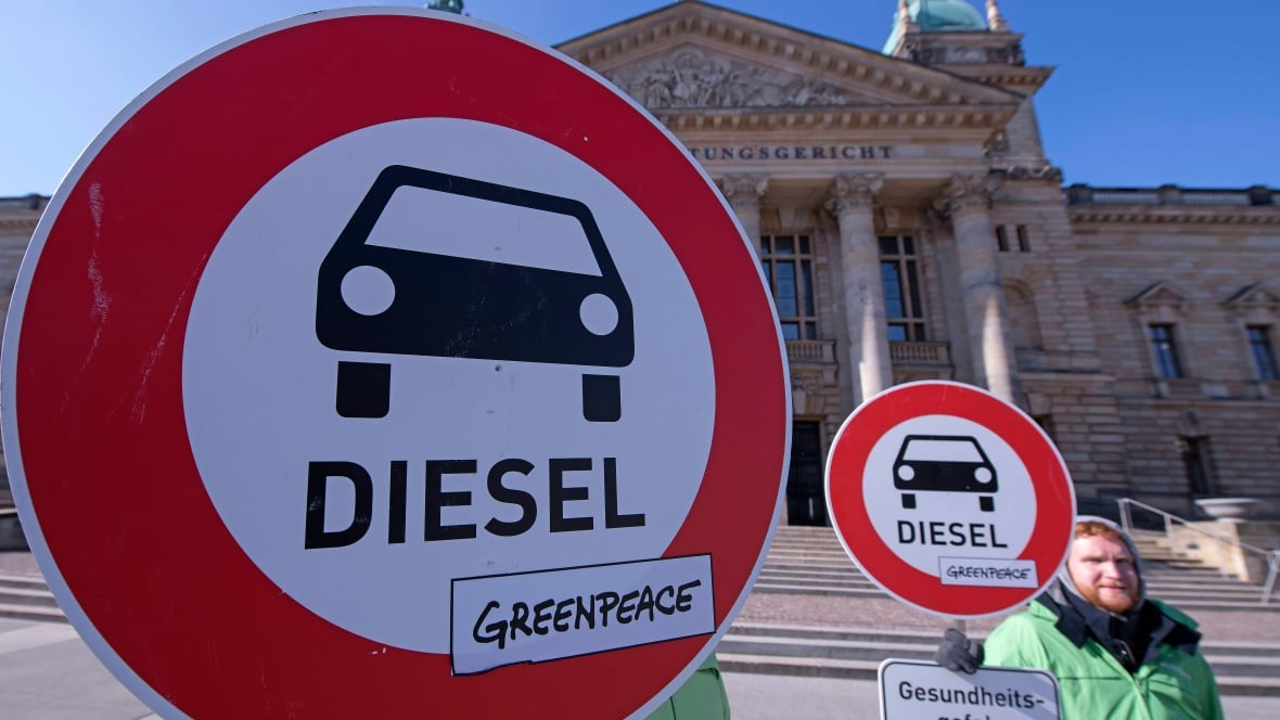 German Court Rules Cities Can Ban Diesel Cars Technology