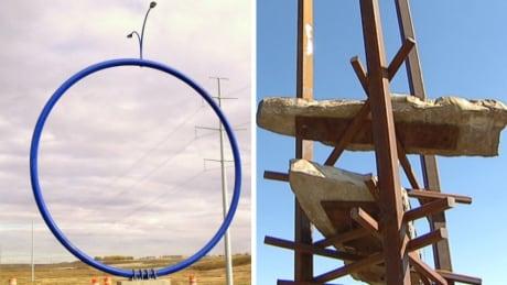 Big blue ring, Bowfort Towers