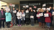 Phoenix pay system protest