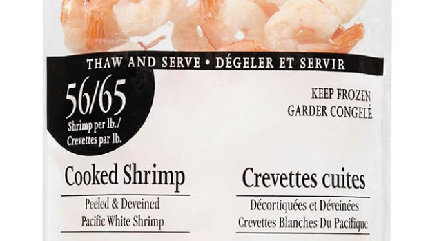 Loblaws recalls packages of cooked shrimp
