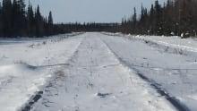 Hudson Bay Railway Winter
