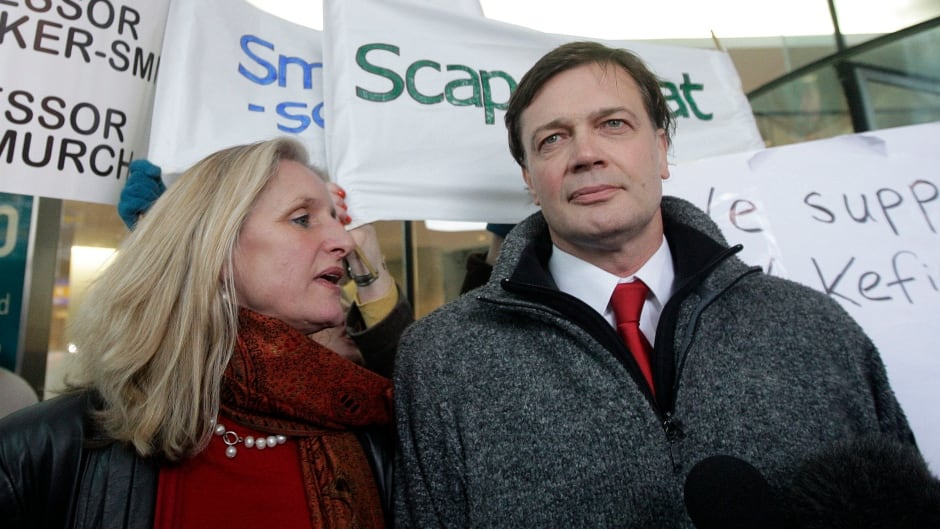 "British Doctor Andrew Wakefield and his wife Carmel arrive at the General Medical Council (GMC) in central London, on January 28, 2010. The doctor who sparked the MMR controversy ""showed a callous disregard"" for the suffering of children and ""abused his position of trust."""