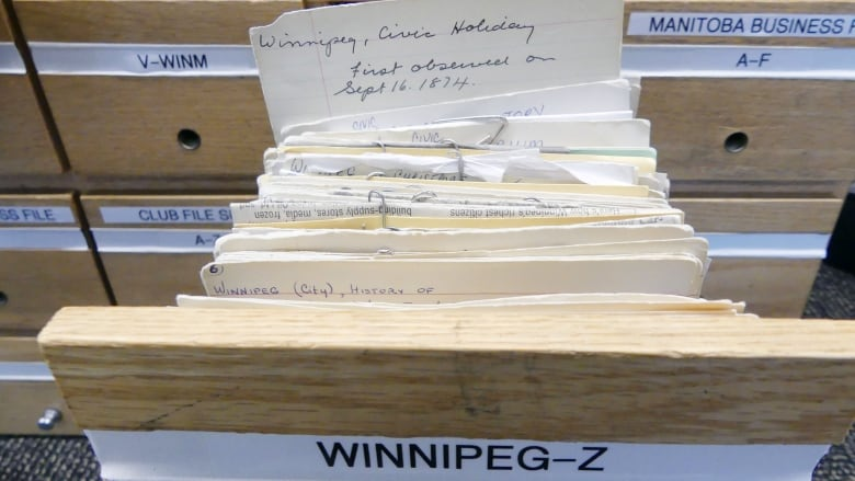 Long before Google, Winnipeggers found answers in library's Where File