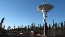 Planet Inuvik satellite station