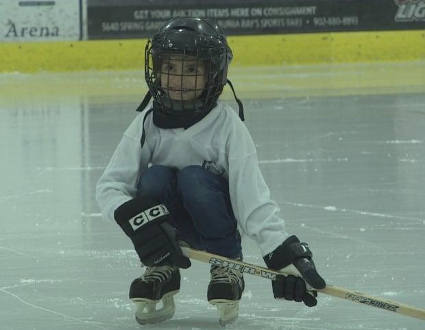 Syrian hockey player