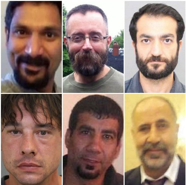 Alleged mcarthur victims