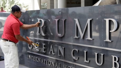 Panama hotel owners remove Trump name after bitter dispute
