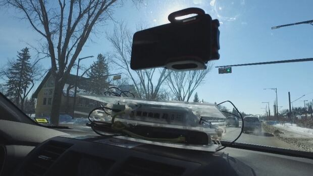 The University of Alberta is developing technology that allows vehicles to talk to each other through an integrated traffic system controlled by the city.