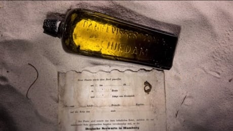 Oldest known message-in-a-bottle