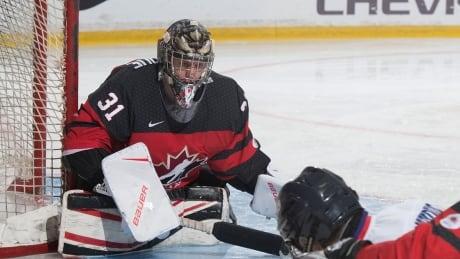 Dominic Larocque Goalie Canada Hockey Paralympics