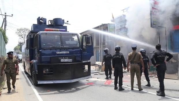 1 killed in communal violence in Central Sri Lanka