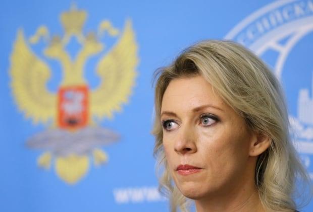 MIDEAST-CRISIS/RUSSIA-ZAKHAROVA