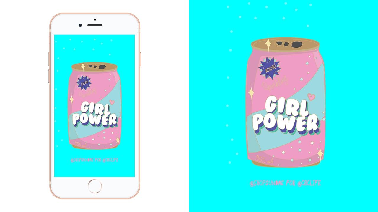 Sip On This Girl Power Soda Pop Phone Wallpaper For International Women S Day Cbc Life