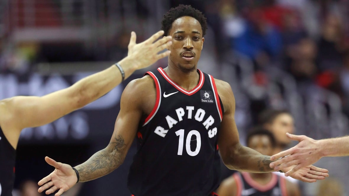 'We got you': Raptors fans rally to support NBA All-Star DeMar DeRozan in battle over depression