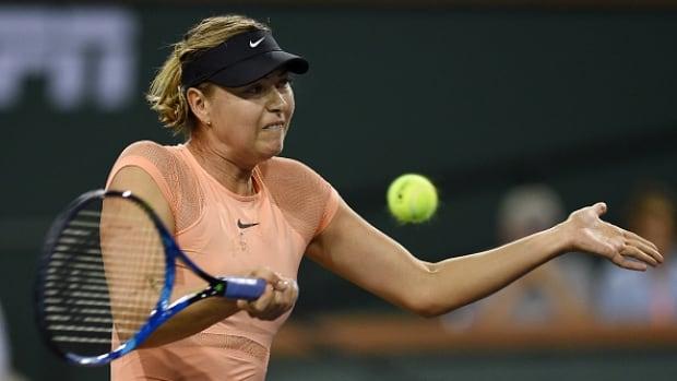 Maria Sharapova upset in 1st round at Indian Wells