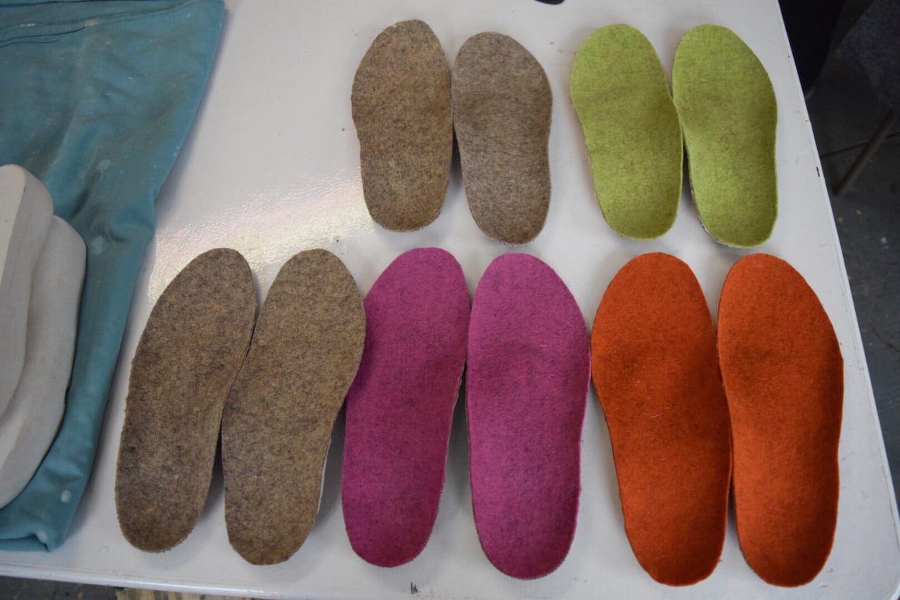 Footwear designer hopes his insoles bring jobs to province