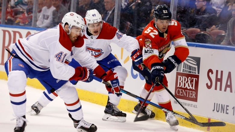 Habs Drop 3rd Straight In Shutout Loss To Surging Panthers Cbc Sports