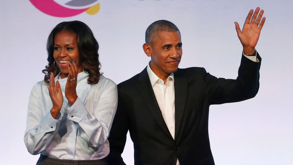 barack and michelle obama reported to be in talks for
