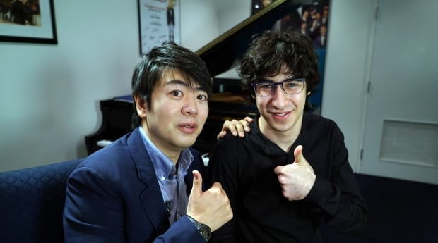 Lang Lang and Maxim Lando