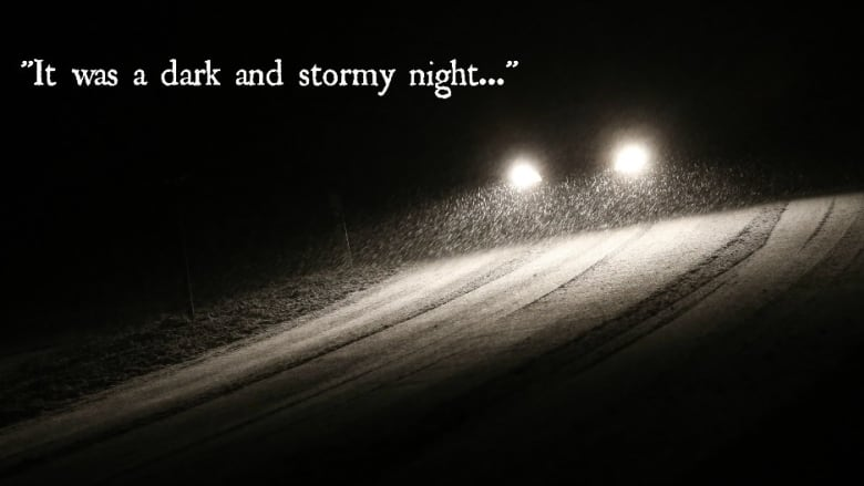 It was a dark and stormy night': The literary cliché that inspired ...